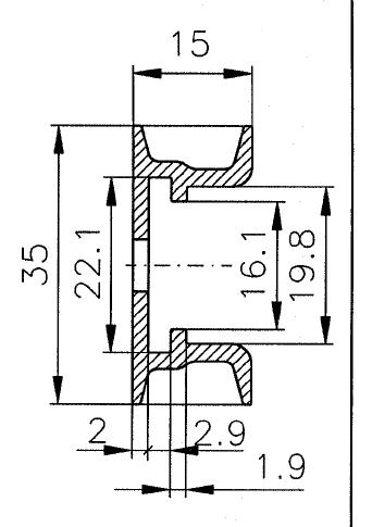 2x35AL wymiary - POKÓJ S.E.