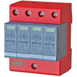 Ogranicznik ELS typ 2 (klasa C) 4P 20_40kA 1,3kV