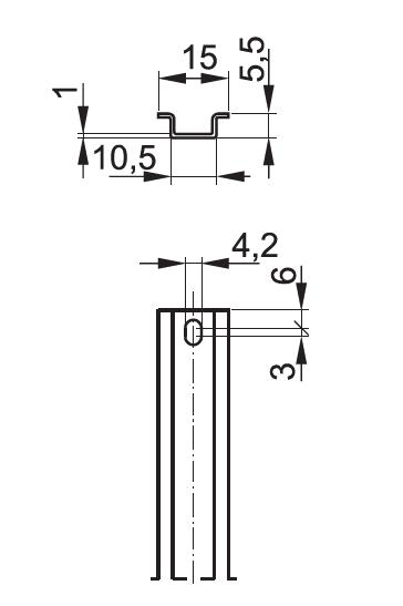 TS15/AL wymiary - POKÓJ S.E.