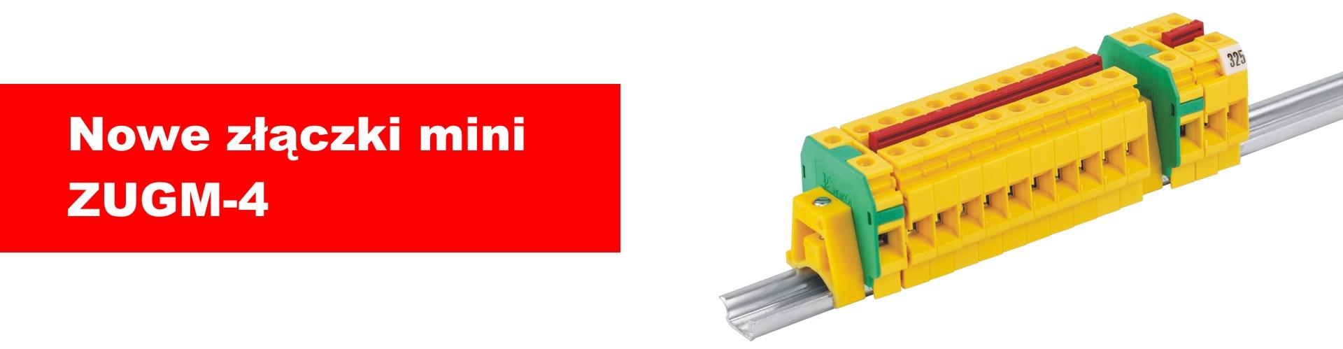 Nowe złączki mini ZUGM